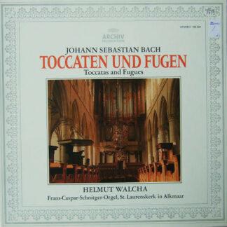Johann Sebastian Bach - Helmut Walcha - Toccaten Und Fugen (LP, Album, RE)