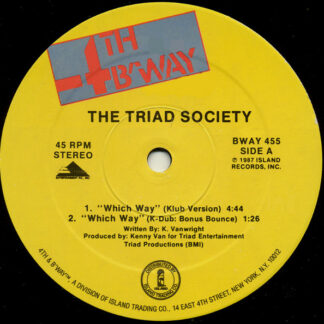 The Triad Society - Which Way (12