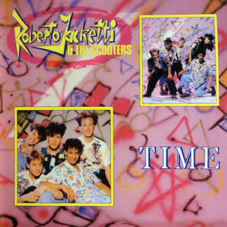 Roberto Jacketti & The Scooters - Time (LP, Album)