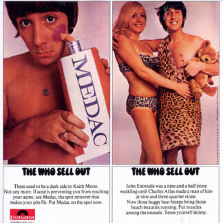 The Who - The Who Sell Out (LP, Album, RE, RM, 180)