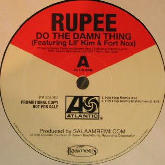 Rupee - Do The Damn Thing (12