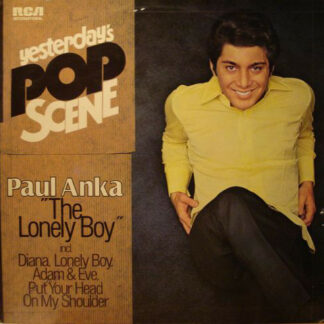 Paul Anka - The Lonely Boy (LP, Comp)