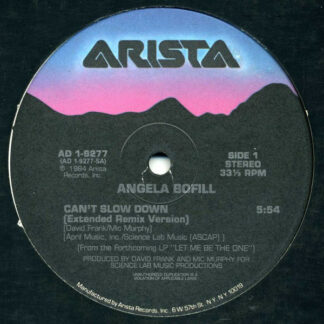 Angela Bofill - Can't Slow Down (12