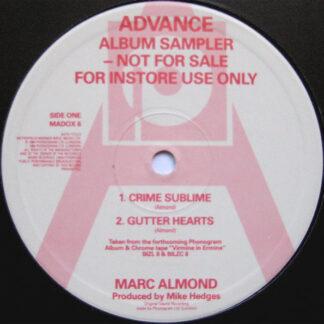 Marc Almond - Advance Album Sampler (12