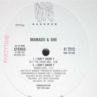 Mamado & She - Bac' Up And Live (12