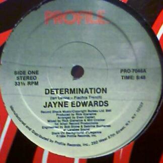 Jayne Edwards - Determination / It Should Have Been Me (12