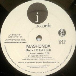 Mashonda - Back Of Da Club (12