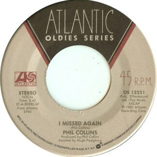 Phil Collins - I Missed Again / In The Air Tonight (7