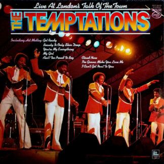 The Temptations - Live At London's Talk Of The Town (LP, Album, RE)