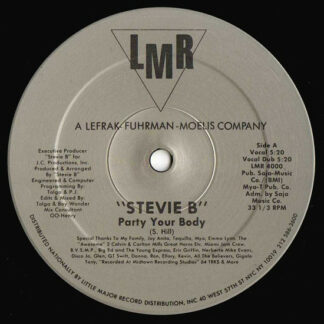 Stevie B - Party Your Body (12