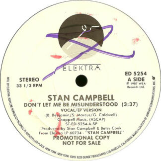 Stan Campbell - Don't Let Me Be Misunderstood (12
