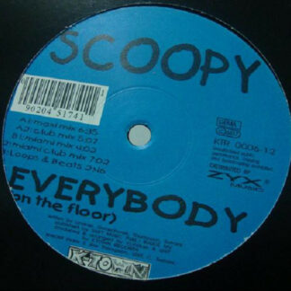 Scoopy (2) - Everybody (On The Floor) (12