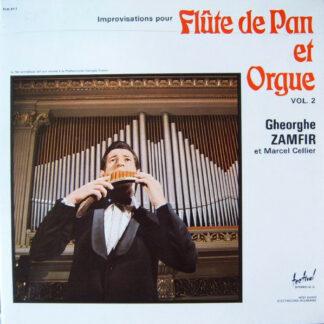 Gheorghe Zamfir Et Marcel Cellier - Improvisations Pour Flûte De Pan Et Orgue Vol. 2 (LP, Album, Gat)