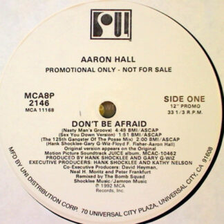 Aaron Hall - Don't Be Afraid (12