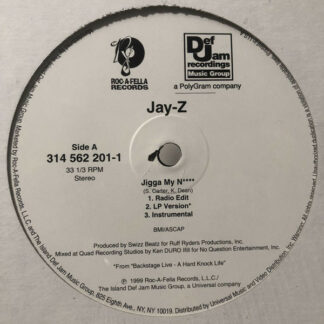 Jay-Z / Beanie Siegel* - Jigga My N**** / What A Thug About (12