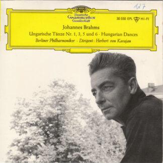 Johannes Brahms – Berliner Philharmoniker · Dirigent: Herbert von Karajan - Ungarische Tänze Nr. 1, 3, 5 Und 6 · Hungarian Dances (7