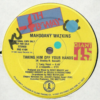 Mahogany Watkins* - Taking Him Off Your Hands (12