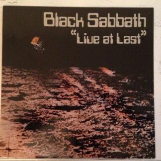 Black Sabbath - Live At Last... (LP, Album)