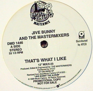 Jive Bunny And The Mastermixers - That's What I Like (12