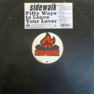 Sidewalk (2) - Fifty Ways To Leave Your Lover (12