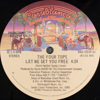 Four Tops - Let Me Set You Free (12