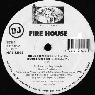 Fire House - House On Fire (12