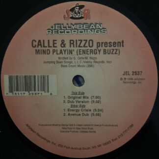 Calle & Rizzo - Mind Playin' (Energy Buzz) (12
