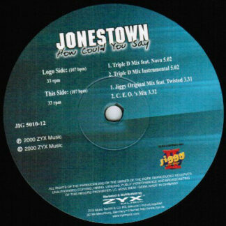 Jonestown - How Could You Say (12