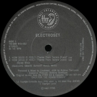 Electroset - How Does It Feel? (Theme From Techno Blues) (12