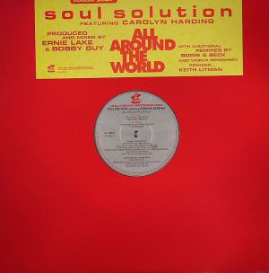 Soul Solution Featuring Carolyn Harding - All Around The World (2x12