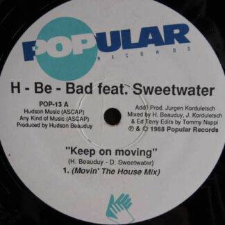 H-Be-Bad feat. Sweetwater (2) - Keep On Moving (12