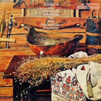 Alexandrow-Ensemble* - Russische Und Ukrainische Volkslieder Mit Dem Alexandrow-Ensemble (LP, Album, RE)
