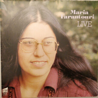 Maria Farantouri* - Live (LP, Album)