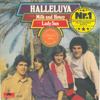 Milk And Honey - Halleluya b/w Lady Sun (7