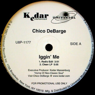Chico DeBarge - Iggin' Me (12