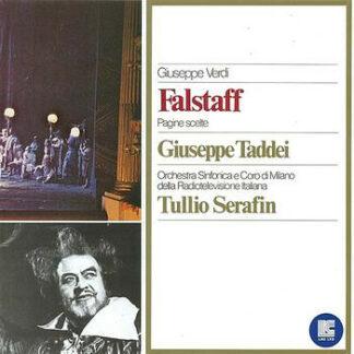 Giuseppe Verdi - Giuseppe Taddei, Orchestra Sinfonica* e Coro Di Milano Della Radiotelevisione Italiana*, Tullio Serafin - Falstaff (Pagine Scelte) (LP, Album)