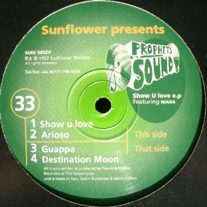 Prophets Of Sound - Show U Love E.P. (12