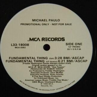 Michael Paulo - Fundamental Thing (12