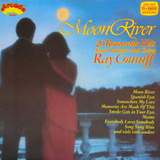 Orchestra And Chorus Ray Conniff* - Moon River (20 Romantic Hits) (LP, Comp)