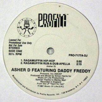 Asher D & Daddy Freddy - Ragamuffin Hip-Hop (12