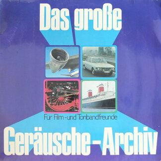 Heinz-Jürgen Preil - Das Große Geräusch-Archiv (2xLP, Club, Gat)