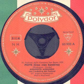 Domenico Modugno - Piove (Ciao Ciao Bambina) (7