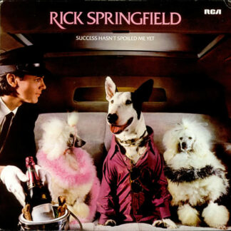 Rick Springfield - Success Hasn't Spoiled Me Yet (LP, Album)