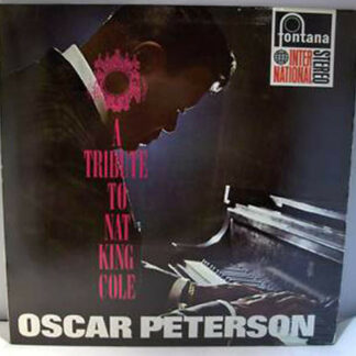 Oscar Peterson Trio* And Orchestra* - A Tribute To Nat King Cole (LP, RE)