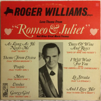 Roger Williams (2) - Love Theme From