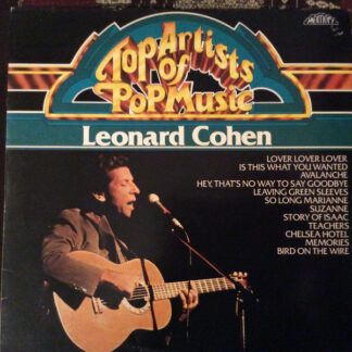 Leonard Cohen - Top Artists Of Pop Music (LP, Comp)