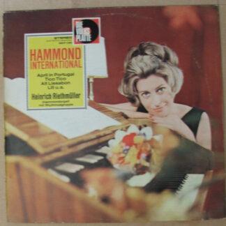 Heinrich Riethmüller - Hammond International (LP, Album)