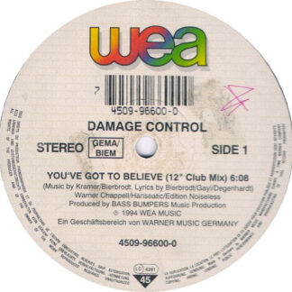 Damage Control - You've Got To Believe (12
