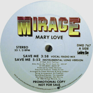 Mary Love - Save Me (12