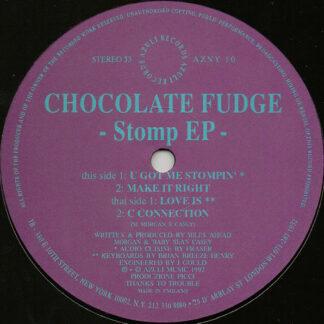 Chocolate Fudge - Stomp EP (12